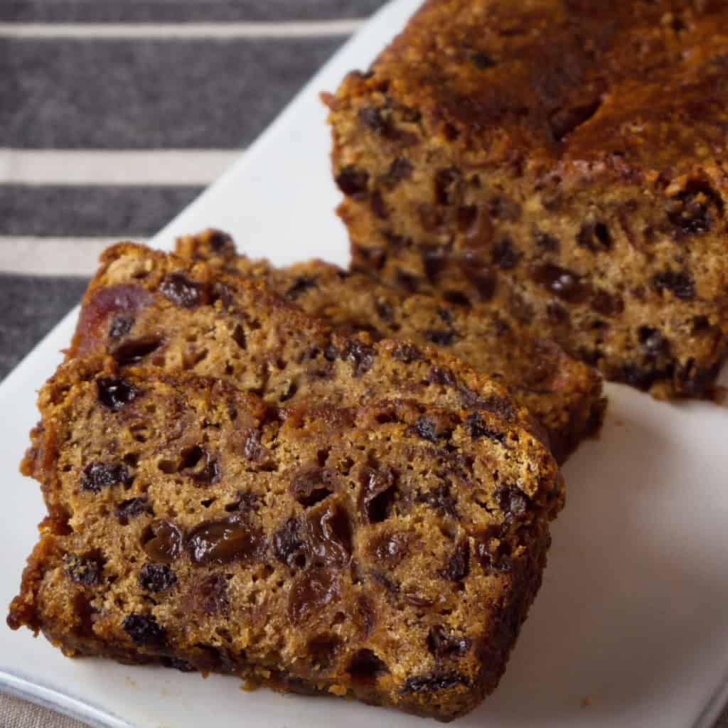 Irish Tea Brack. Gluten free, vegan