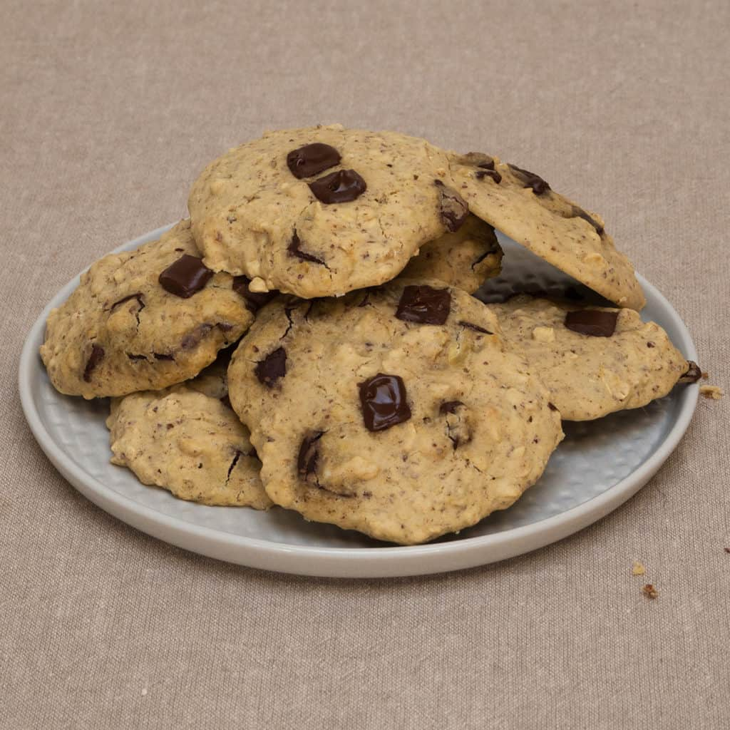 Gluten-Free, Vegan Chocolate Chip Cookies. From FriFran