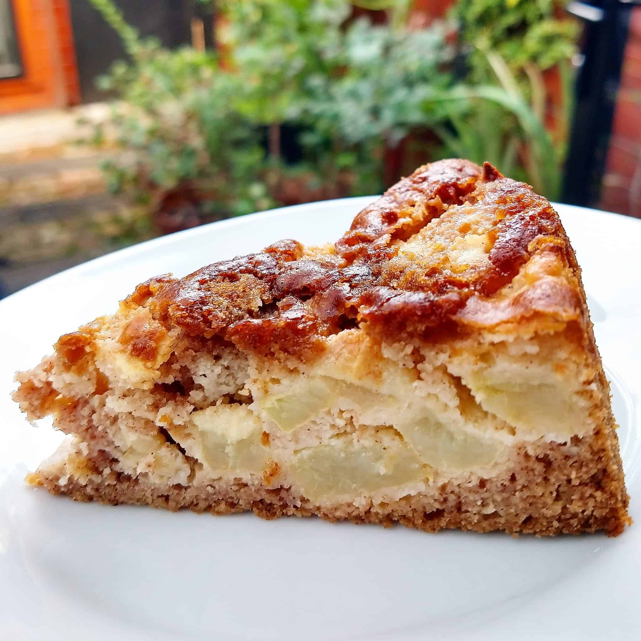 Gluten-Free Vegan Apple Cake